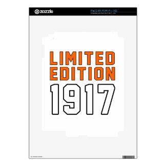 Limited Edition 98 Birthday Designs Skin For iPad 2