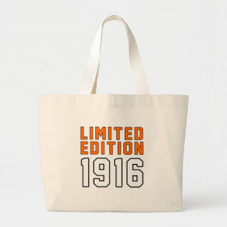 Limited Edition 99 Birthday Designs Large Tote Bag