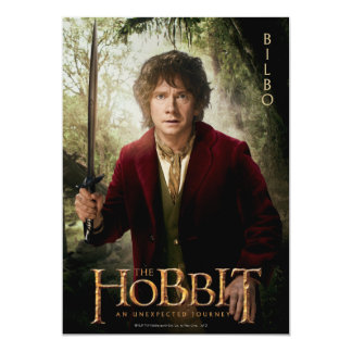Limited Edition Artwork: BILBO BAGGINS™ Card