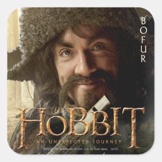Limited Edition Artwork: Bofur Square Sticker