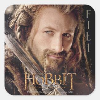 Limited Edition Artwork: Fili Square Sticker