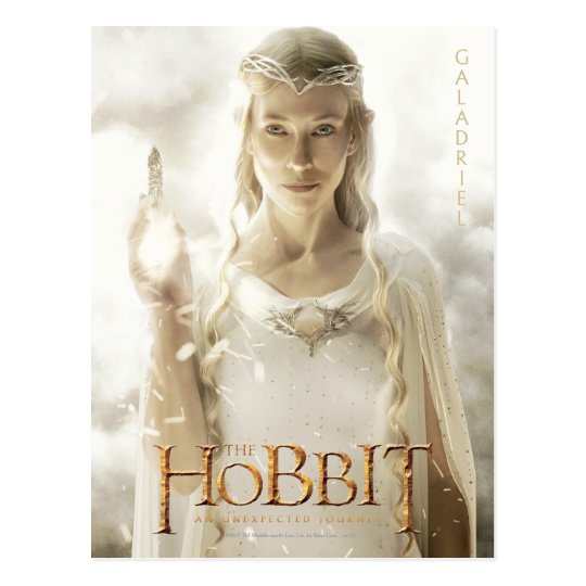 Limited Edition Artwork: Galadriel Postcard