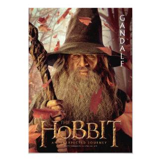 """Limited Edition Artwork: Gandalf 5"""" X 7"""" Invitation Card"""