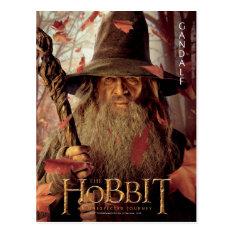 Limited Edition Artwork: Gandalf Postcard at Zazzle