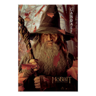 Limited Edition Artwork: Gandalf Poster