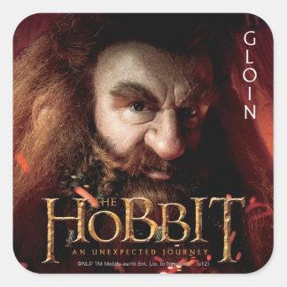 Limited Edition Artwork: Gloin Square Sticker