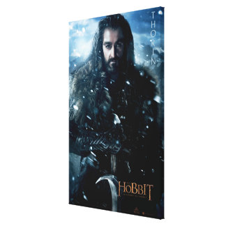 Limited Edition Artwork: THORIN OAKENSHIELD™ Canvas Print