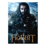 Limited Edition Artwork: THORIN OAKENSHIELD™ 5x7 Paper Invitation Card