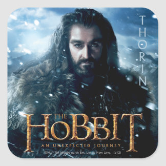 Limited Edition Artwork: THORIN OAKENSHIELD™ Square Sticker