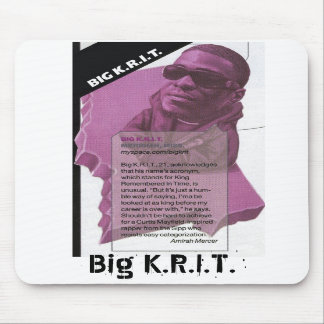 Limited Edition Big K.R.I.T. Mousepads