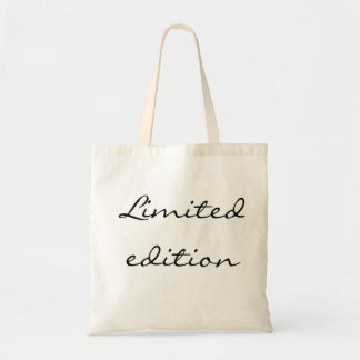 Limited edition Budget Tote Bag