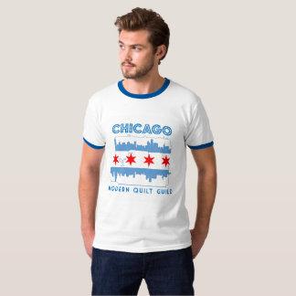 Limited Edition Chicago Modern Quilt Guild Design T-Shirt