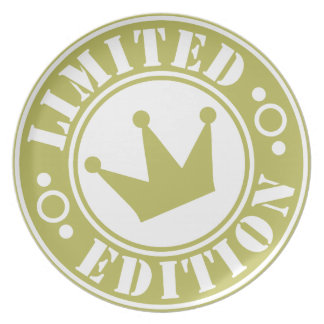 Limited-Edition-crown-2.png Melamine Plate