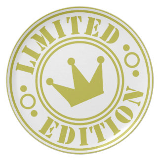 Limited-Edition-crown.png Melamine Plate