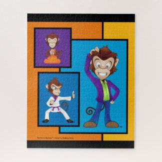 Limited Edition Drunk Monkey Puzzle Design 1