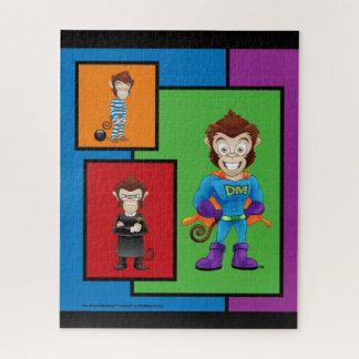 Limited Edition Drunk Monkey Puzzle Design 3