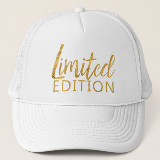 Limited Edition Gold Trucker Hat