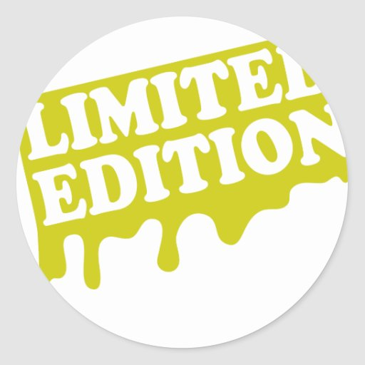 Limited-Edition-Goldshirt-.png Pegatina Redonda