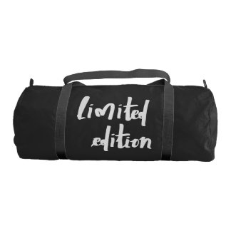 limited edition gym bag
