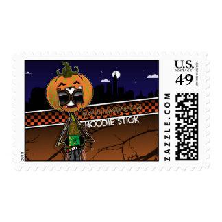 Limited Edition Halloween Hoodie M. Postage Stamp
