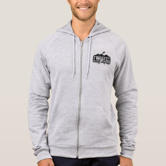 Limited edition logo zipped TAC hoodie