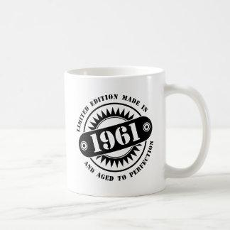 LIMITED EDITION MADE IN 1961 COFFEE MUG