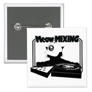 Limited Edition Meow MIXING Button
