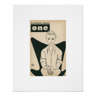 Limited Edition ONE Magazine, June/July 1957 Print