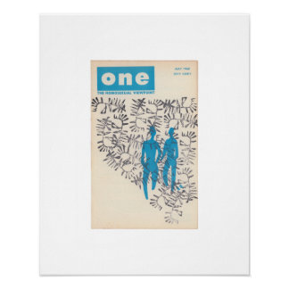 Limited Edition ONE Magazine,  May 1960 Print