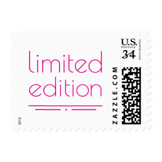 Limited Edition - One of a Kind Postage