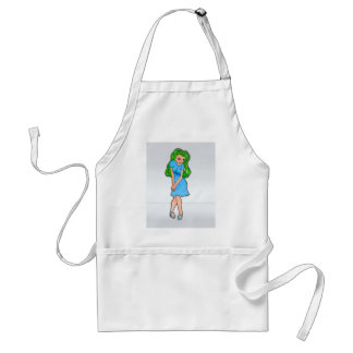 Limited Edition Rinoa Anime Art Gallery Design Adult Apron