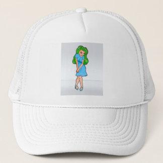 Limited Edition Rinoa Anime Art Gallery Design Trucker Hat