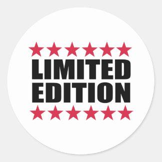 Limited Edition Round Sticker