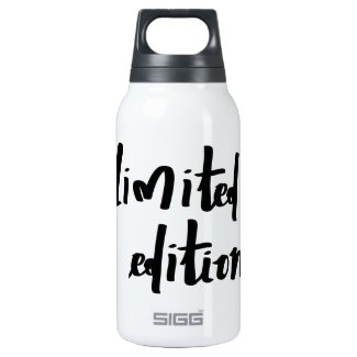 Limited Edition 10 Oz Insulated SIGG Thermos Water Bottle