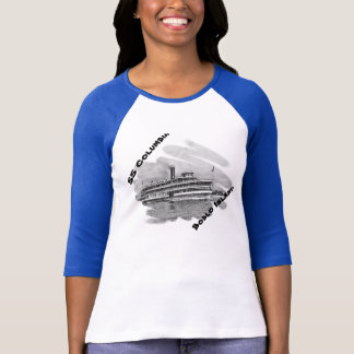 Limited Edition SS Columbia to Boblo Island gear T Shirts