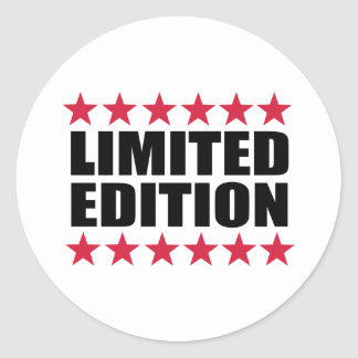 Limited Edition Round Sticker
