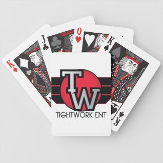 Limited Edition TightWork Entertainment Cards Bicycle Playing Cards