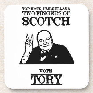 Limited Edition Vote Tory Coaster
