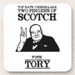 Limited Edition Vote Tory Drink Coaster