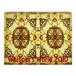 Limited Edition Whisper s World 2010 Calendar
