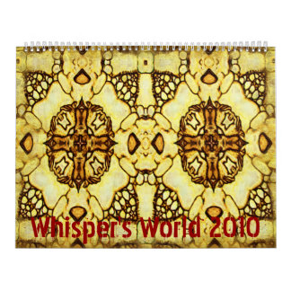 Limited Edition, Whisper's World 2010 Calendar