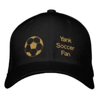 Limited Edition Yank Soccer Fan Soccer ball cap Embroidered Hat