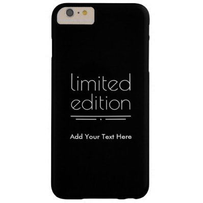 Limited Edition - You Are One of a Kind Barely There iPhone 6 Plus Case