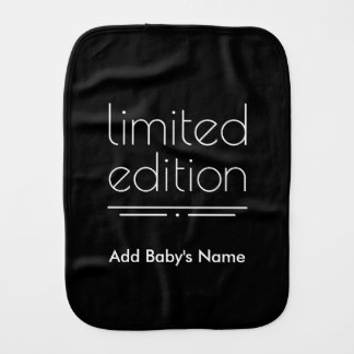 Limited Edition - You Are One of a Kind Burp Cloth
