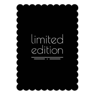 Limited Edition - You Are One of a Kind Card