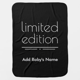 Limited Edition - You Are One of a Kind Swaddle Blanket