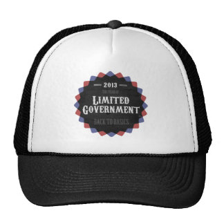 Limited Government 2013 Trucker Hat