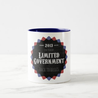 Limited Government 2013 Two-Tone Coffee Mug