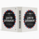 Limited Government 2013 Vinyl Binder