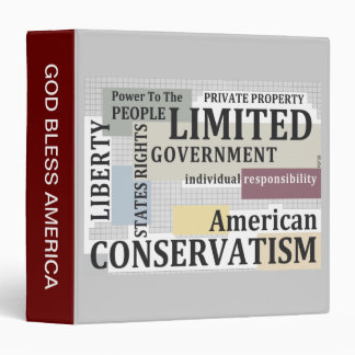 Limited Government Binder